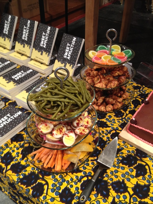 Montreal launch at Librairie D&Q, with MAD SNACKS by Preservation Society